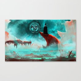 Your Dark Corner of the Universe Canvas Print