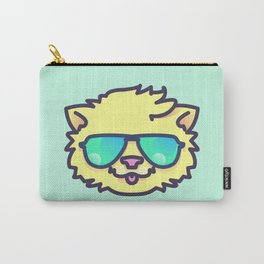 Yellow Cat Carry-All Pouch