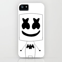 Marshmello Man iPhone Case