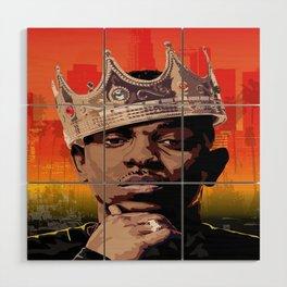 King Kendrick Wood Wall Art