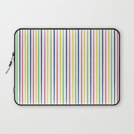 lovely stripes navy Laptop Sleeve