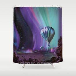 Jupiter Poster Shower Curtain