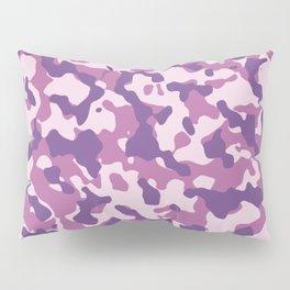 Camouflage Trending Colors Purple Pillow Sham