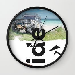 Ride Australian Wall Clock