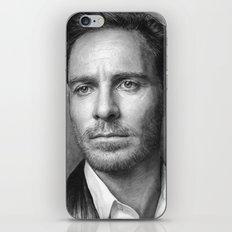 Michael Fassbender - Portrait iPhone & iPod Skin