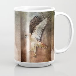 Evening Hawk Coffee Mug