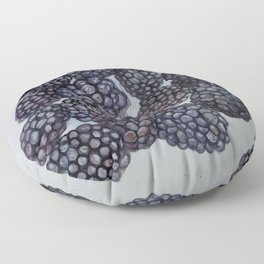 Blackberry Picking Floor Pillow