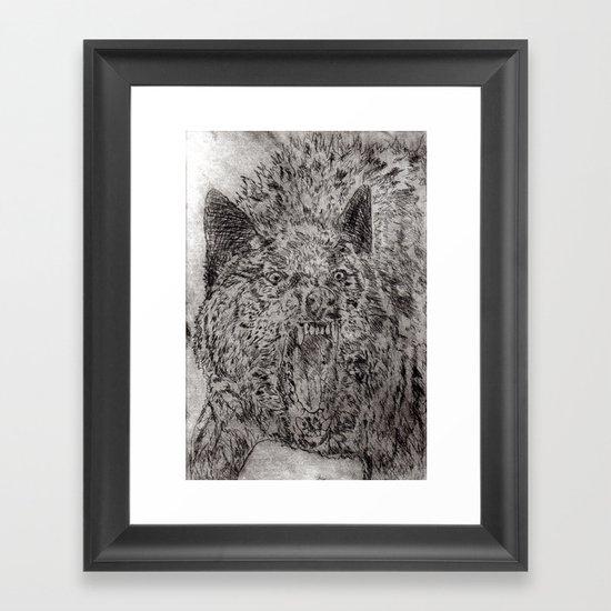 Agrizoophobia  Framed Art Print