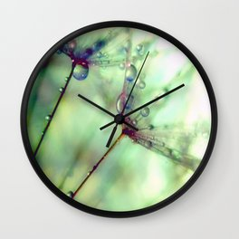 Wish With All Your Heart Wall Clock