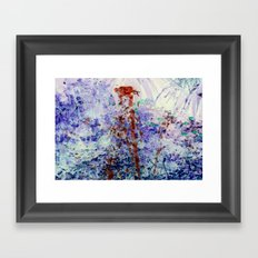 Water Fountain Framed Art Print