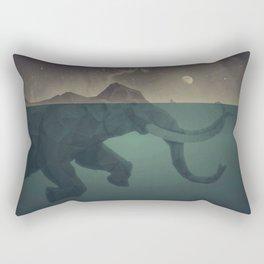 Elephant mountain Rectangular Pillow
