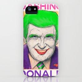 Dashing Donald + Mr. J Hybrid iPhone Case