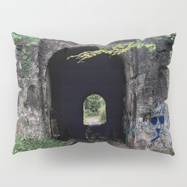 The Screaming Tunnel Pillow Sham