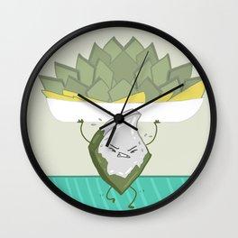 Sweet resolutions - Hard work barfi Wall Clock