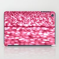 glitter iPad Cases featuring Bubblegum Pink Glitter Sparkles by WhimsyRomance&Fun
