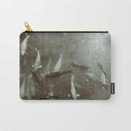 Koi In The Garden Carry-All Pouch