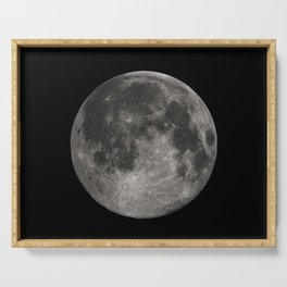 Full Moon Space Decor Serving Tray