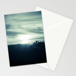 Sunset Mist Stationery Cards