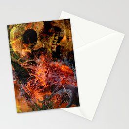 Life and death - a snide comment Stationery Cards