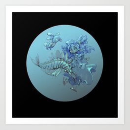 Cambrian cuties Art Print