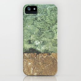 Sea contrast iPhone Case
