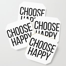 Happy Quotes Coasters Society6