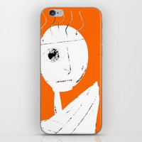 clockwork orange iPhone & iPod Skins featuring Clockwork Orange by Defedia
