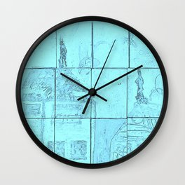 Up On A Roof: #20 from children will play.  Wall Clock