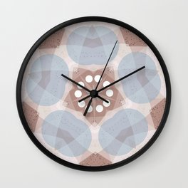 Sand Dollar Mandala V Wall Clock