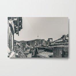 Seoul Cityscape Metal Print
