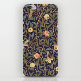 William Morris Bird And Pomegranate iPhone Skin