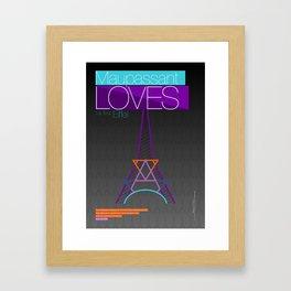 EIFFEL Framed Art Print