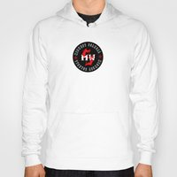 scandal Hoodies featuring MWS Collage Poster by Dana Holstrom
