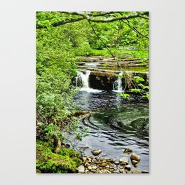 River Swale - Keld Canvas Print