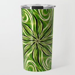 Emerald Swirl Travel Mug