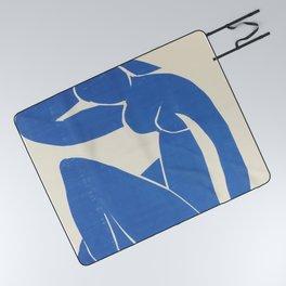 Blue Nude by Henri Matisse  Picnic Blanket