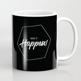 Inspiring Gift Ideas for Entrepreneurs #3 - White on Black Coffee Mug