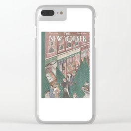 Vintage New Yorker Cover - Circa 1935 Clear iPhone Case