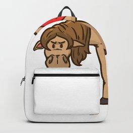 Billiard Cue Game Sport Funny Humor Gift Backpack