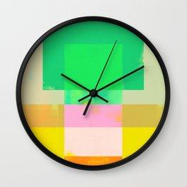 Abstract Geometry No. 9 Wall Clock