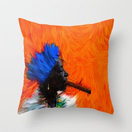 babami Throw Pillow