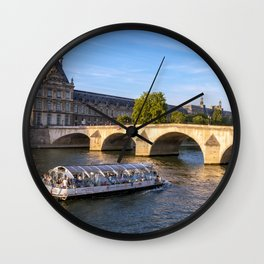 Pont Royal - Paris Wall Clock