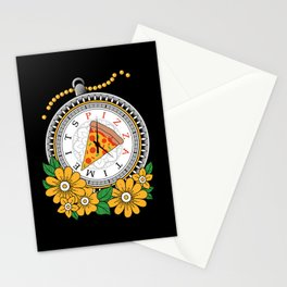 It's Pizza Time Stationery Cards