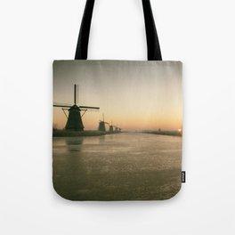 Sunrise at Kinderdijk IV Tote Bag