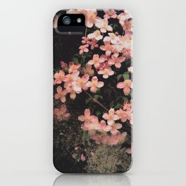 She Hangs Brightly iPhone Case