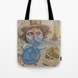 THE BLUEBERRY PROBLEM Tote Bag