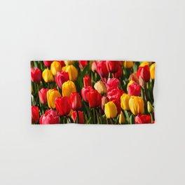 Peace, Love And Tulips Hand & Bath Towel