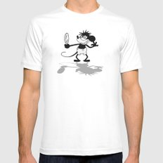 Sexy and I Know It Mens Fitted Tee White MEDIUM