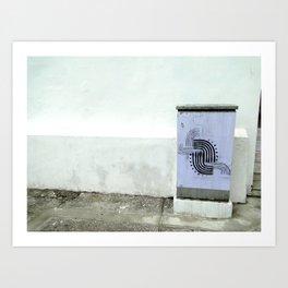 POSTER LINES Art Print