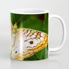 Butterfly Wings Wide Coffee Mug